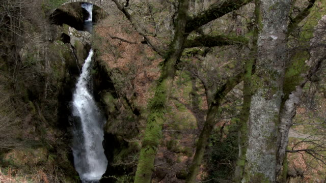 Aira Force Falls in the English Lake District, Cumbria