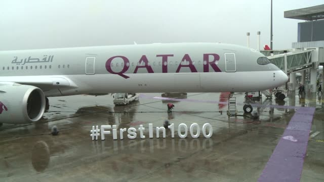 Airbus delivers its first A3501000 to Qatar Airways