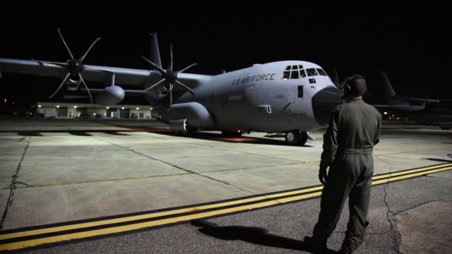 Aircrew with the 53rd Weather Reconnaissance Squadron Hurricane Hunters an Air Force Reserve unit assigned to the 403rd Wing at Keesler Air Force...