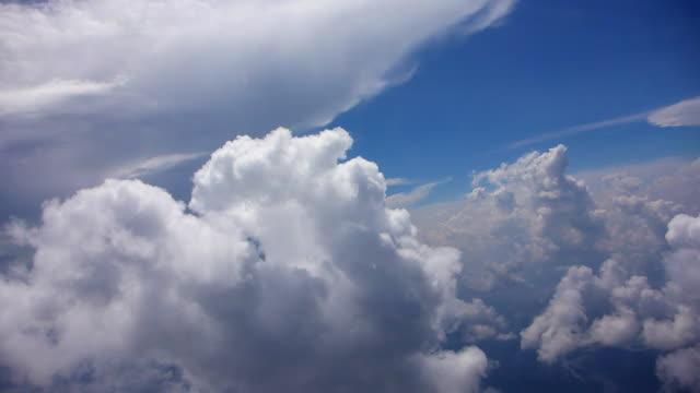 タイムラプスの航空会社のフライト - 奇跡点の映像素材/bロール