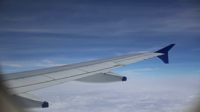 airliner in space, time lapse - south asia stock videos and b-roll footage