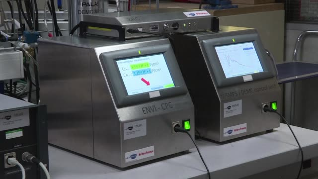 airparif which monitors air quality in the french capital has acquired equipment to continually measure ultrafine particles in paris - air pollution stock videos & royalty-free footage