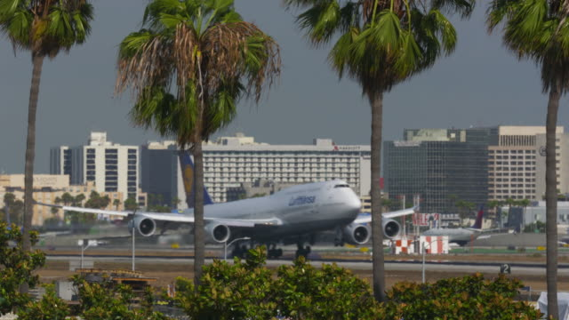 LAX Airplane Arrival