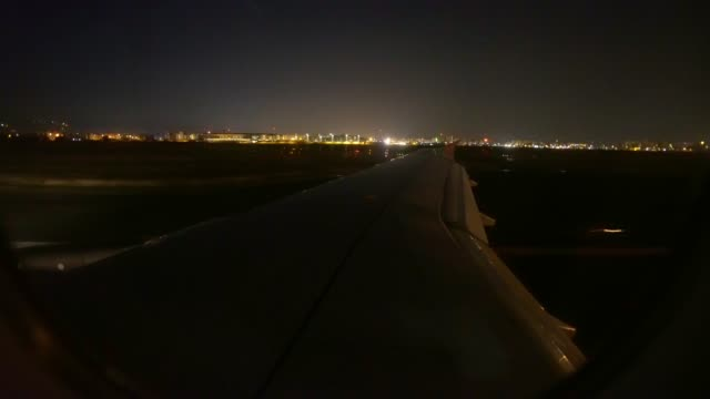 airplane at airport at night - raw footage stock videos & royalty-free footage