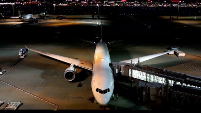 Airplane at departure