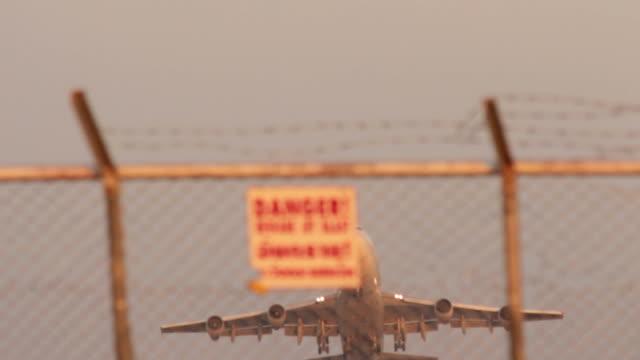 Airplane B747 Takeoff.
