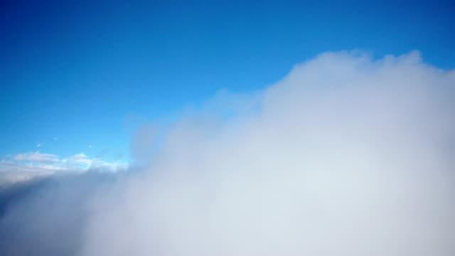 飛行機コックピットビュータイムラプス雲を飛ぶ - 天国点の映像素材/bロール