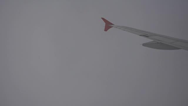 Flugzeug fliegt Himmel auf Wolke nimbus strom