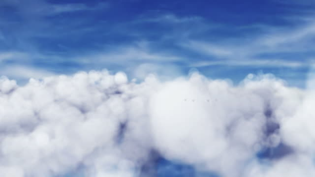 Airplane in the sky 1080 HD