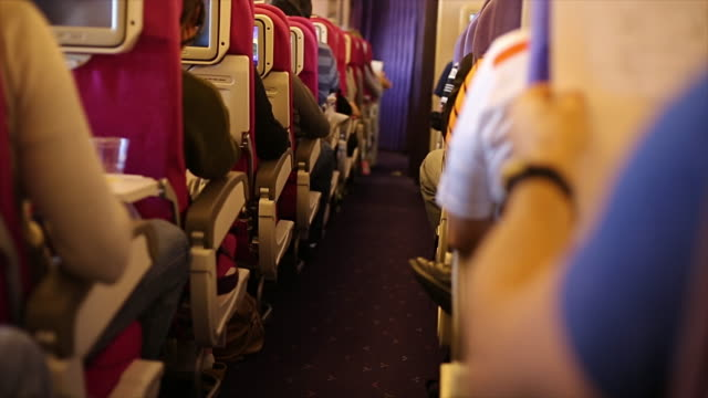 Airplane passenger vehicle seat