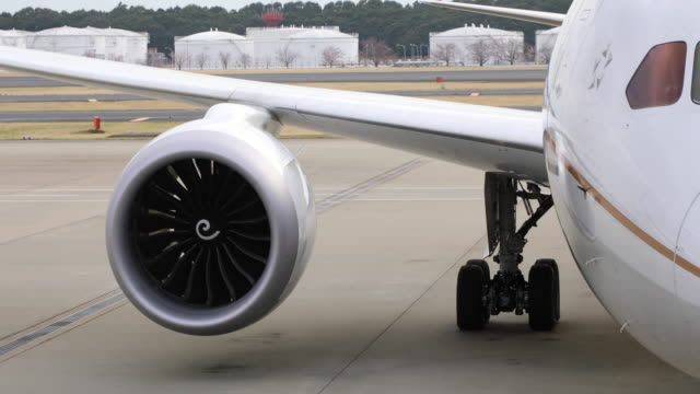 Airplane turbo engine
