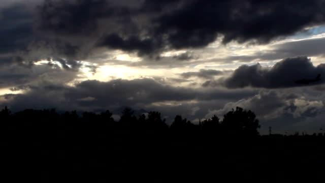 airplane - dramatic sky stock videos & royalty-free footage