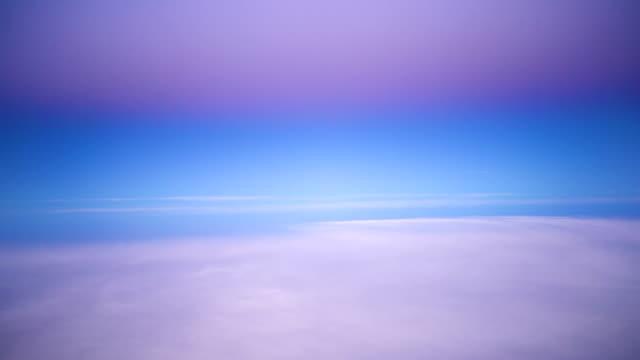 blick auf flugzeuge - stratosphäre stock-videos und b-roll-filmmaterial