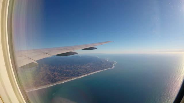 Vliegtuig venster weergave