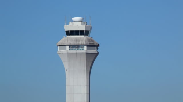 HD airport air traffic control tower ATC