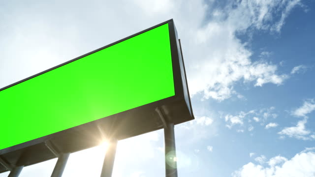 airport billboard - 4k resolution - tabellone video stock e b–roll