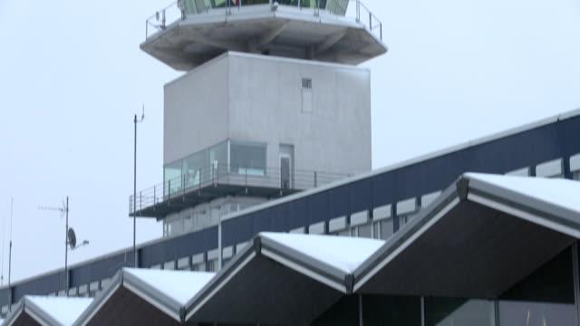 airport building, innsbruck austria - north tirol stock videos & royalty-free footage