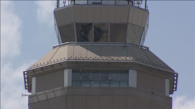 WPIX Airport Control Tower on July 10 2012 in Newark New Jersey