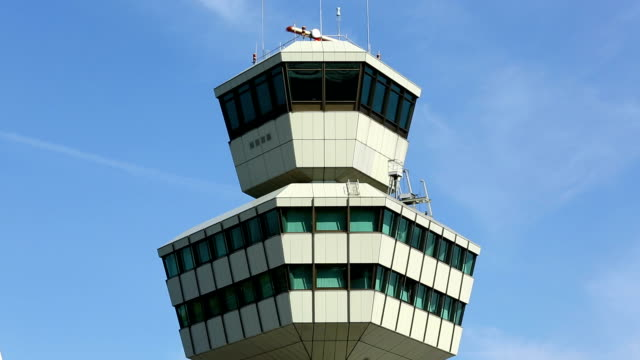 airport control tower - air traffic control tower stock videos and b-roll footage