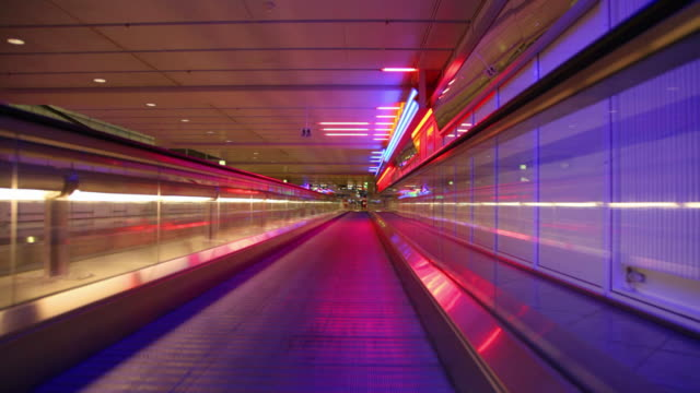 airport conveyor walkway - infinity stock videos & royalty-free footage
