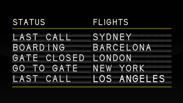 airport departure board - arrival stock videos & royalty-free footage