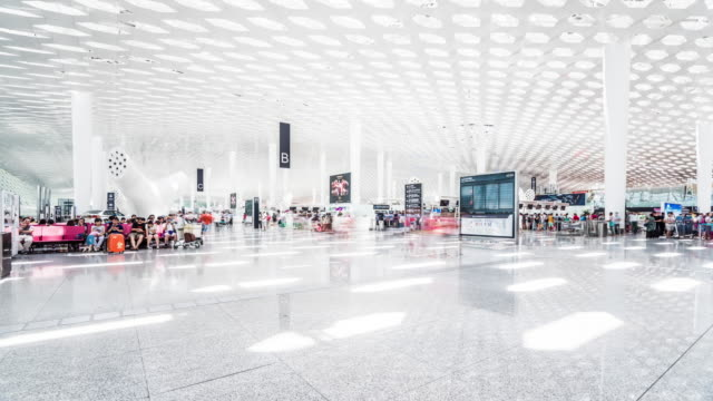 T/L WS Airport Departure Lounge / Shenzhen, China