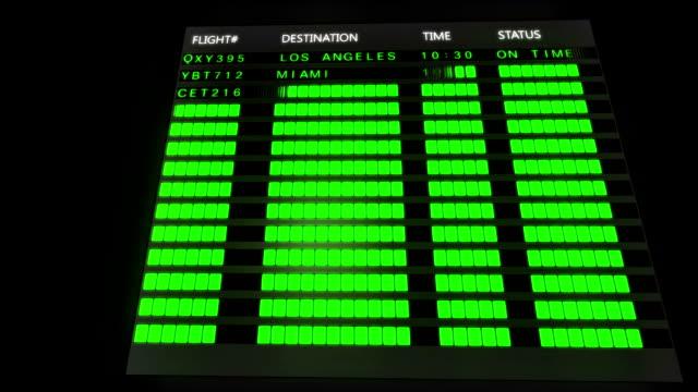 Airport Flight Board