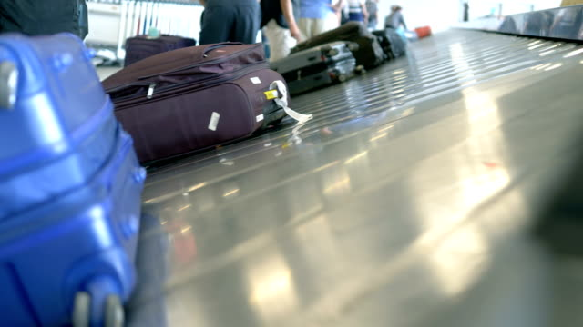 airport luggage carousel - sticker stock videos and b-roll footage