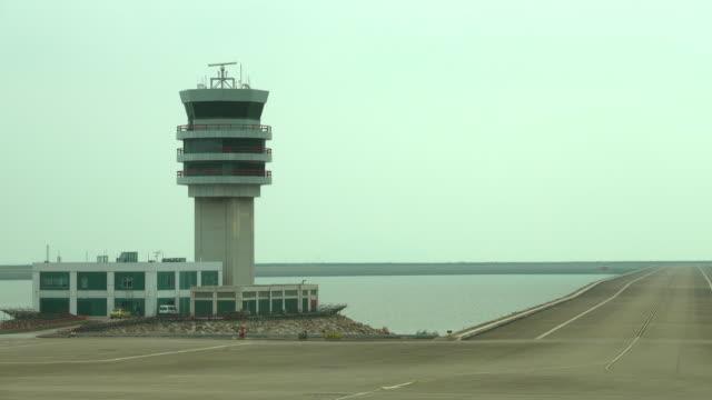 airport radar control tower - propeller airplane stock videos & royalty-free footage