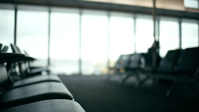 airport seats - business travel stock videos & royalty-free footage