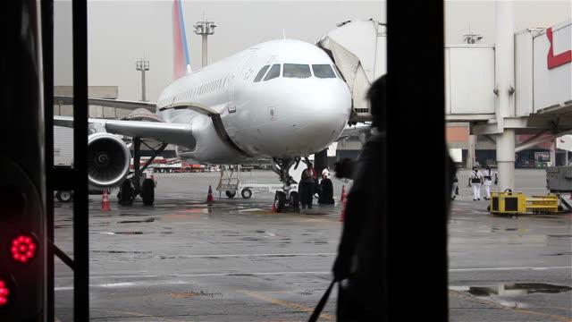Flughafen-Shuttle-Boarding