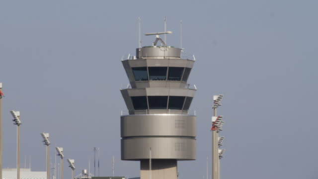 airport tower - air traffic control tower stock videos and b-roll footage