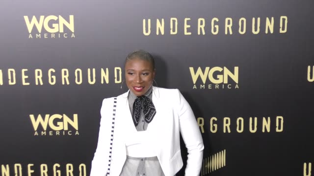 Aisha Hinds at the For Your Consideration Event For WGN America's 'Underground' on May 02 2017 in Los Angeles California