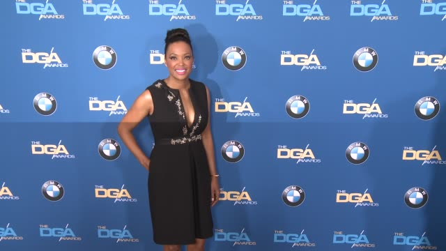 aisha tyler at 69th annual directors guild of america awards in los angeles ca - directors guild of america awards stock videos & royalty-free footage
