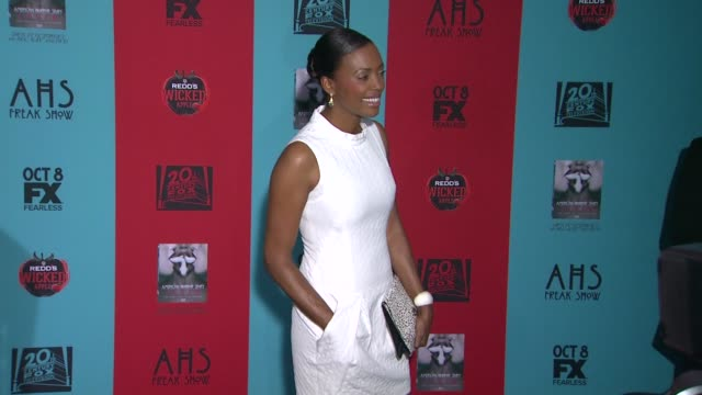 Aisha Tyler at 'American Horror Story Freak Show' Los Angeles Premiere at TCL Chinese 6 Theatres on October 05 2014 in Hollywood California