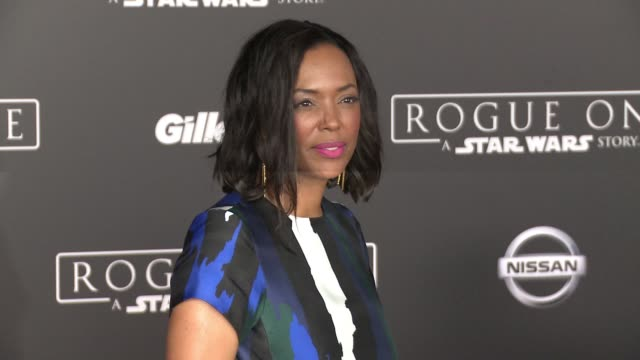 Aisha Tyler at 'Rogue One A Star Wars Story' World Premiere at the Pantages Theatre on December 10 2016 in Hollywood California