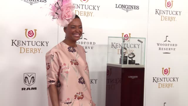 Aisha Tyler at The 144th Kentucky Derby at Churchill Downs on May 5 2018 in Louisville Kentucky