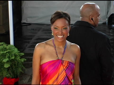 Aisha Tyler at the 2005 People's Choice Awards Arrivals at the Pasadena Civic Auditorium in Pasadena California on January 10 2005