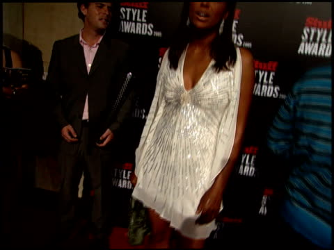 Aisha Tyler at the 2005 Stuff Style Awards Arrivals at the Roosevelt Hotel in Hollywood California on September 7 2005