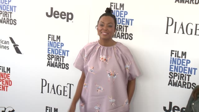 Aisha Tyler at the 2017 Film Independent Spirit Awards Arrivals on February 25 2017 in Santa Monica California