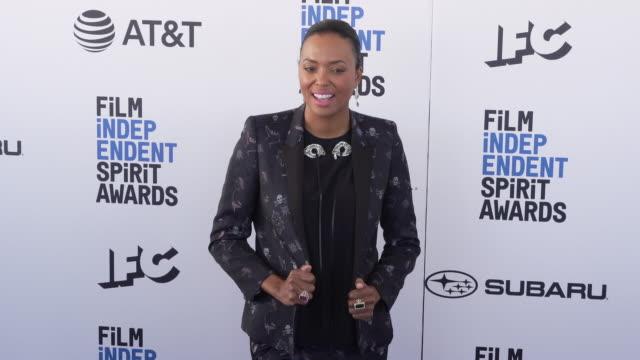 Aisha Tyler at the 2019 Film Independent Spirit Awards on February 23 2019 in Santa Monica California