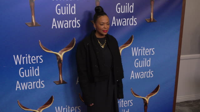 aisha tyler at the 2020 writers guild awards at the beverly hilton hotel on february 01, 2020 in beverly hills, california. - the beverly hilton hotel stock videos & royalty-free footage