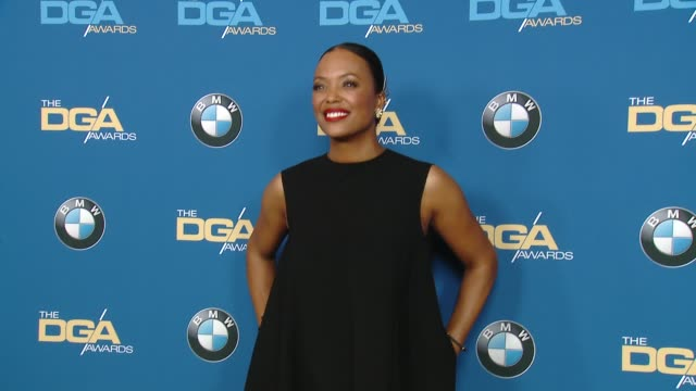 stockvideo's en b-roll-footage met aisha tyler at the 70th annual dga awards at the beverly hilton hotel on february 03 2018 in beverly hills california - beverly hilton hotel