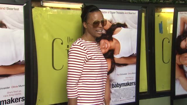Aisha Tyler at The Babymakers Los Angeles Premiere on 7/24/12 in Los Angeles CA