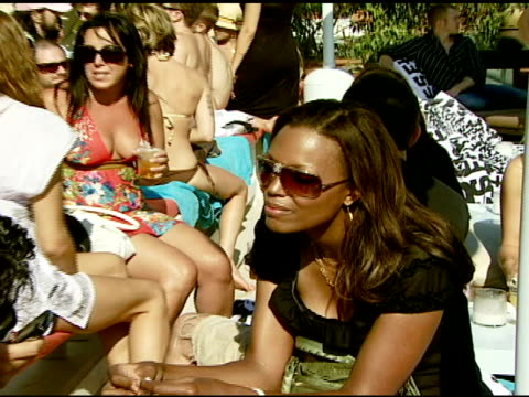 Aisha Tyler at the Diesel BBQ at the Polaroid Beach House at Polaroid Beach House in Malibu California on August 11 2007