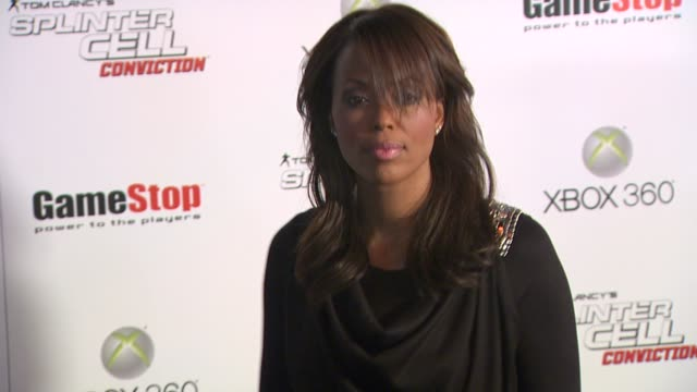 Aisha Tyler at the Game Stop And Xbox 360 Present The Premiere Of 'Splinter Cell Conviction' at Hollywood CA