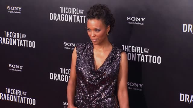 Aisha Tyler at 'The Girl With The Dragon Tattoo' New York Premiere New York NY United States