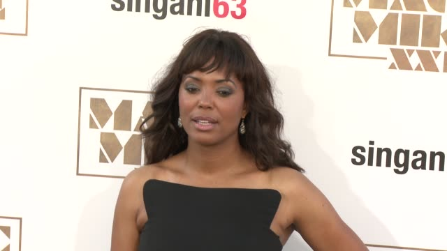 Aisha Tyler at The Los Angeles World Premiere of Warner Bros Pictures' 'Magic Mike XXL' at TCL Chinese Theatre on June 25 2015 in Hollywood California
