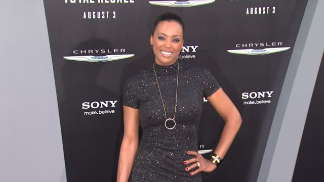 Aisha Tyler at Total Recall Los Angeles Premiere on 8/1/12 in Los Angeles CA