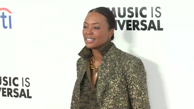 Aisha Tyler at Universal Music Group's 2019 After Party To Celebrate The Grammys at The Row on February 10 2019 in Los Angeles California